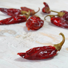 Dried chilli peppers 2