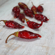 Dried chilli peppers 3